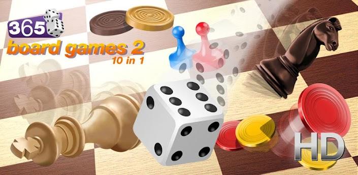 365 Board Games 2: 10 in 1