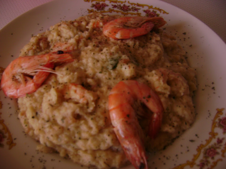 Shrimp Bread Stew