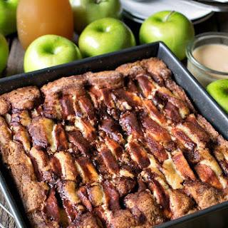 New England Apple Cider Cake.