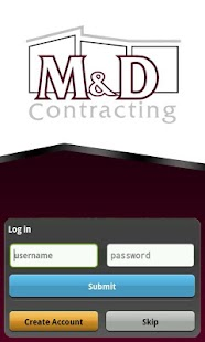 M & D Contracting - screenshot thumbnail