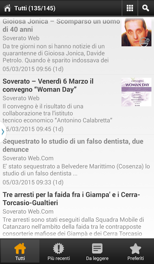 Soverato Web- screenshot