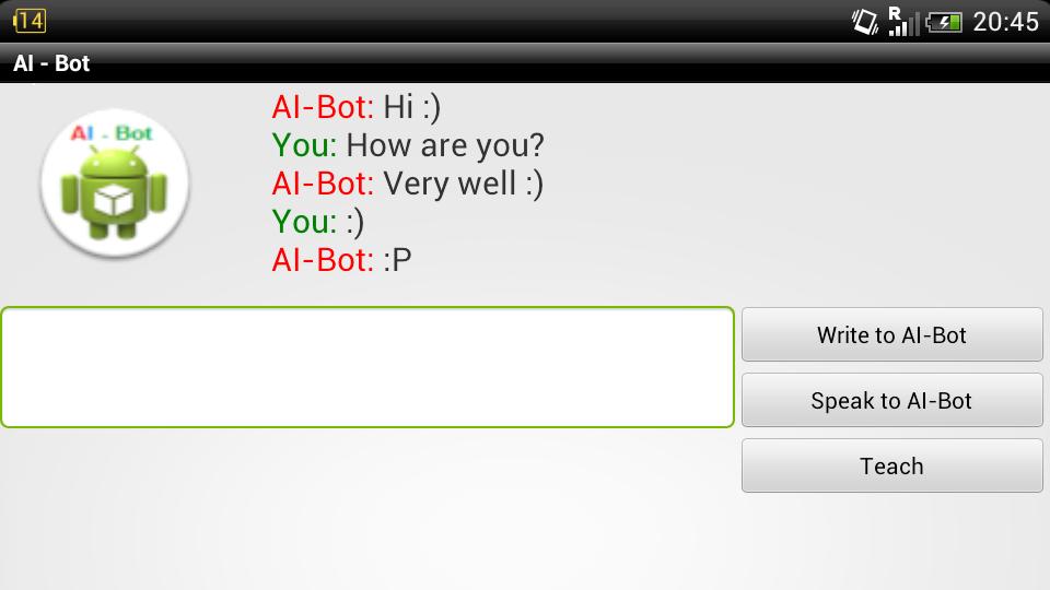 AI - Bot Lite - screenshot