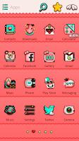 Screenshot of Meow Meow GO Launcher Theme