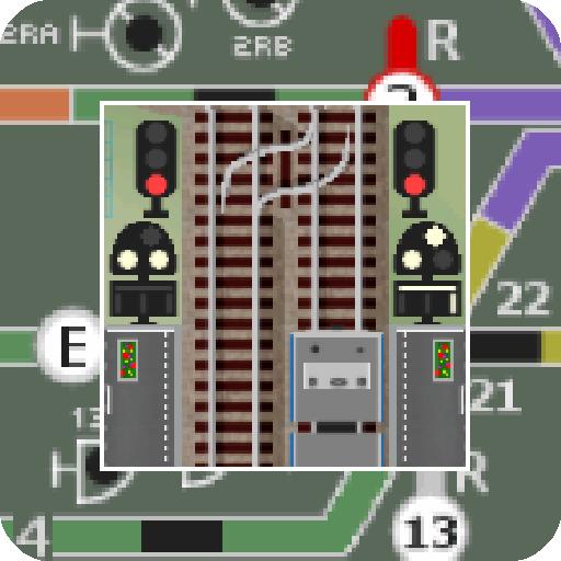 掌内鉄道 吉鶴駅 模擬 App LOGO-APP試玩