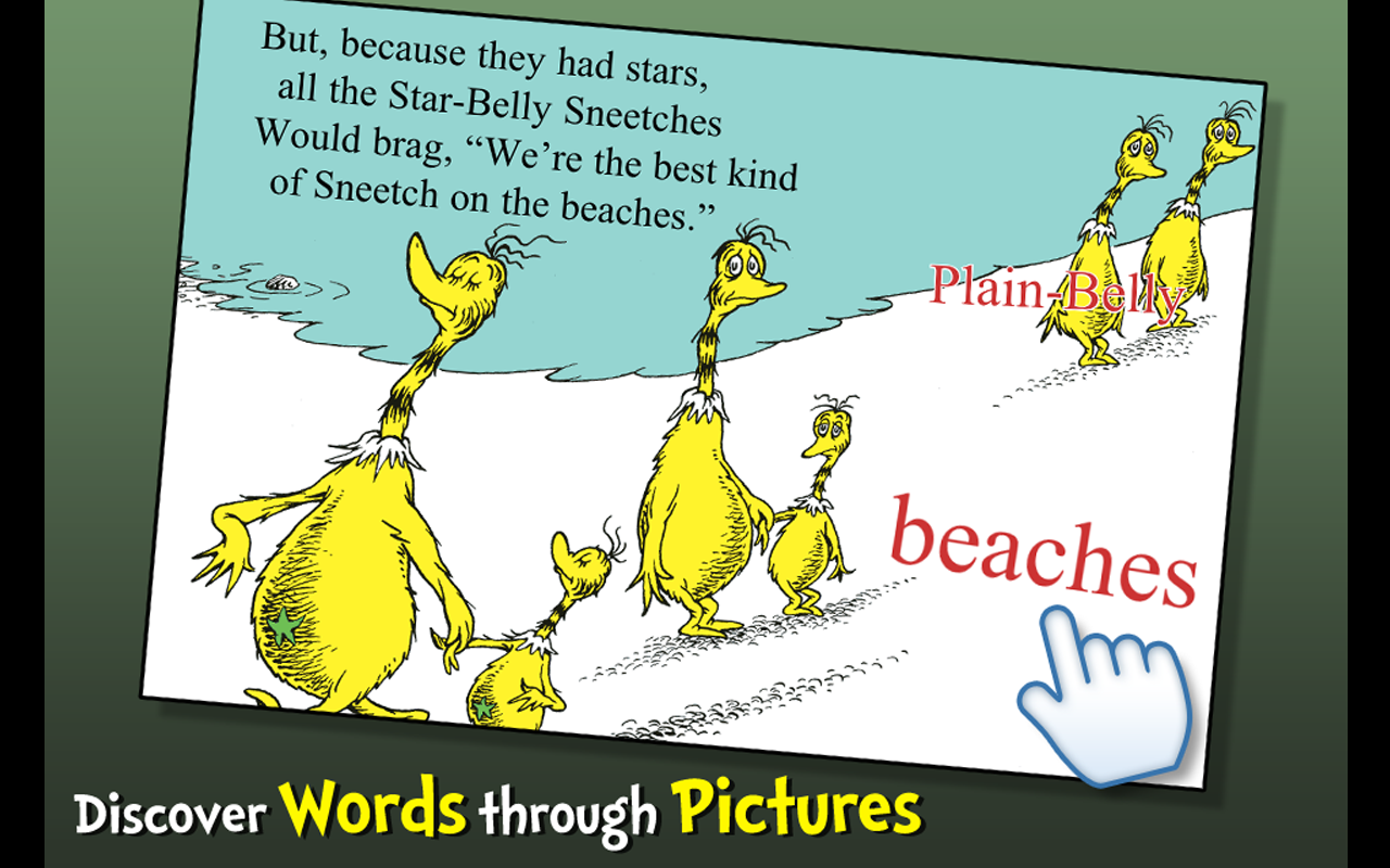 The Sneetches - Dr. Seuss- screenshot