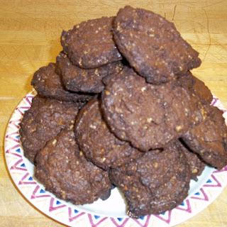 Traveling Double Chocolate Coffee Cookies