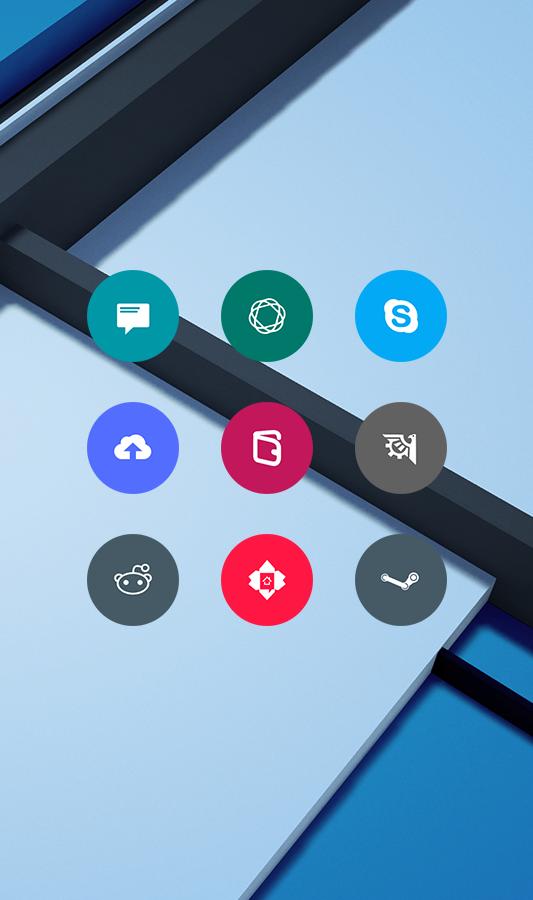 Material Things Lollipop Theme - screenshot