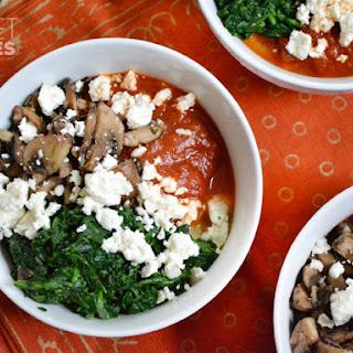 Portobello Polenta Bowls