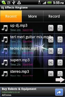 DJ Effects Ringtone - screenshot thumbnail