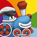 Rainbow Train: teach colors icon