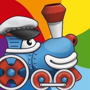 彩虹火車:顏色完整版 家庭片 App Store-癮科技App