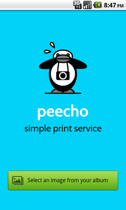 Simple Print Service - screenshot