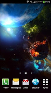 Deep Space 3D Pro lwp Screenshot 7