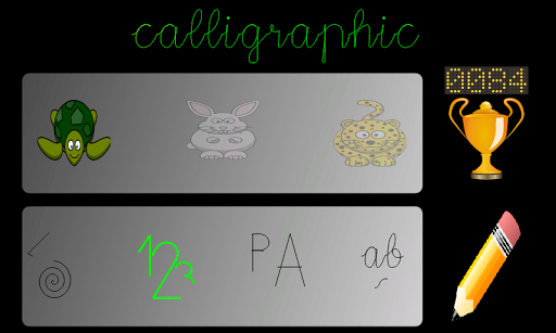 Calligraphic Demo