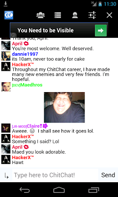 ChitChat - Free Online Chat - screenshot