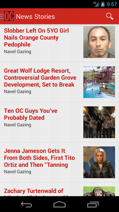 OC Weekly - screenshot