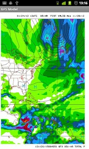GFS Model Viewer (Eastern US) screenshot 1