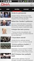 Screenshot of Doğan Haber Ajansı