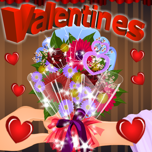Valentine Flowers Decoration