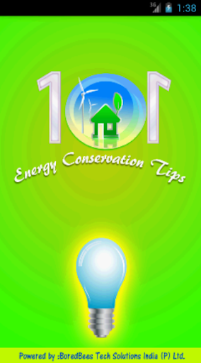 101 Energy Conservation Tips