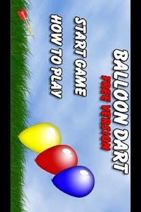 Balloon Dart Free