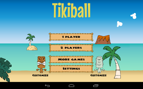 Tikiball - beach volleyball- screenshot thumbnail