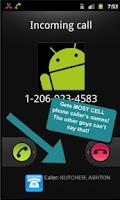 Screenshot of Real Caller ID