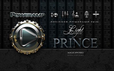 Poweramp skin Prince v1.40