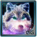 Starfield Wolf Galaxy LWP icon