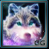 Starfield Wolf Galaxy LWP
