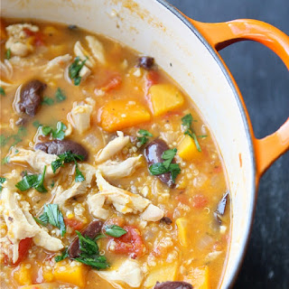 Hearty Chicken Stew with Butternut Squash & Quinoa