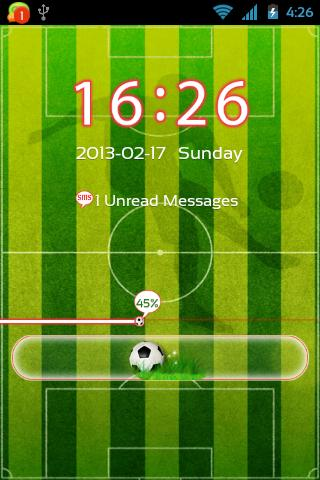 Football Theme for GO Locker- screenshot