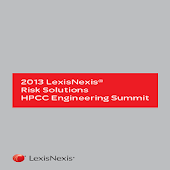 2013 LexisNexis HPCC Summit