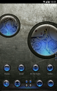 Next Launcher Theme SteampunkN - screenshot thumbnail
