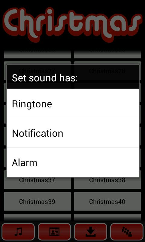 Christmas Songs - screenshot