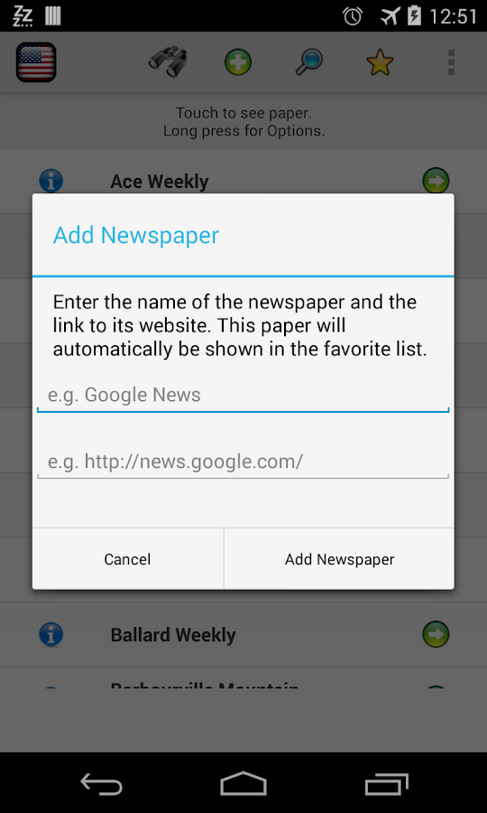 All Newspapers Kentucky - Free - screenshot