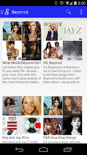 Songza- screenshot thumbnail