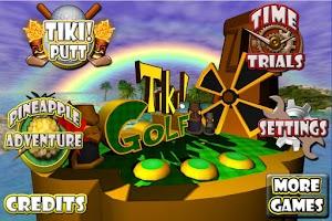 Screenshot of Tiki Golf 3D FREE