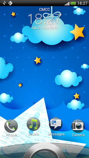 Night Clouds Live Wallpaper