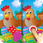Easter App Find the Difference icon