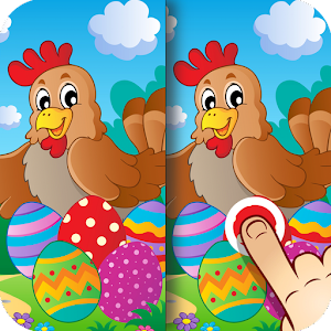 Easter App Find the Difference for PC and MAC