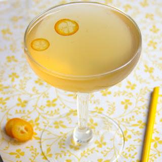 Kumquat Rose Cocktail.
