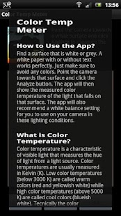 White Balance Color Temp Meter - screenshot thumbnail