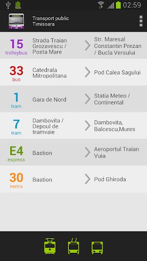 Public Transport - Timisoara