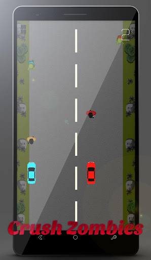 2 Cars vs. Zombies highway