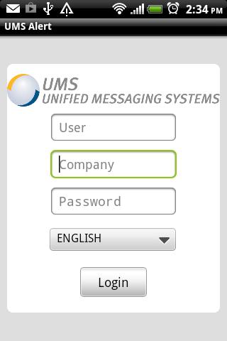 UMS Alert