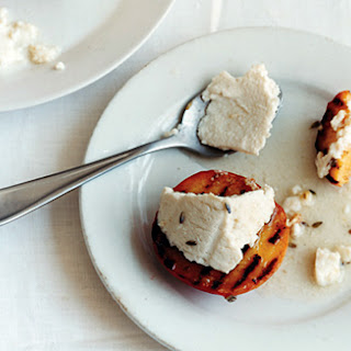 Grilled Peaches and Ricotta Recipe