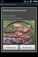 Screenshot of Saarland Rezepte