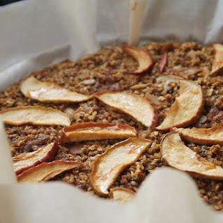Baked Apple-Pumpkin Oatmeal Breakfast Pie (Gluten Free)