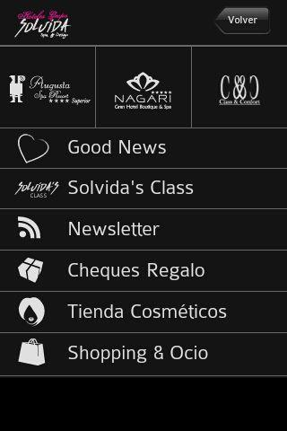Grupo Solvida Hoteles - screenshot